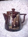 Brown Glazed Grease Pot