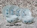 Miniature Blue Flower Dinnerware