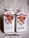 Made in Japan Floral Salt and Pepper Set