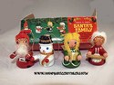 Miniature Ornaments-Santa's Family