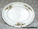 Porcelain Swinnertons Floral Platter - Majestic Vellum