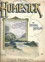 Homesick by Irving Berlin