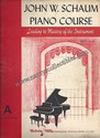 John W. Schaum Piano Course-A The Red Book