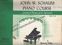 John W. Schaum Piano Course-Pre-A The Green Book