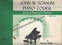 John W. Schaum Piano Course-Pre-A The Green Book