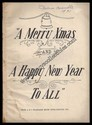 Music and Lyrics-Merry Xmas and A Happy New Year