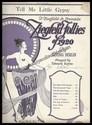 Ziegfeld's Tell Me Little Gypsy