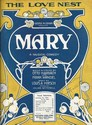 The Love Nest Mary by George M. Cohan