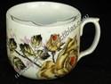 Porcelain Mustache Cup