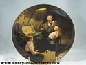 Bradford Exchange - Norman Rockwell - Grandpa's Treasure Chest