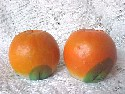 Orange-shaped Salt and Pepper Shakers