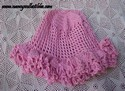 Pink Crocheted Cap