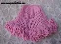 Pink Crocheted Cap