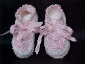 Hand-Crocheted Booties