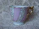 Made In Japan Pink and White With Gold Cup