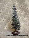 7-1/2 inch Plastic Snow-Covered Christmas Tree