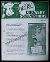 Timely Electric Cookery Suggestions Leaflet