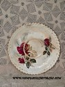 Antique Floral Saucer - Staffs Teaset Co. Ltd.