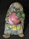 Stone Critter - Hedgehog with Radish