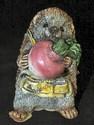 Stone Critter - Hedgehog with Radish