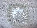 Glass Swirl Ashtray