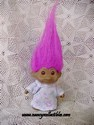 Pink Flowered Dress Troll