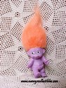 Purple Baby Troll W/Orange Hair