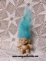Turquoise Diamond Troll-sold