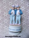 Ida Mann Tweedle Dum and Tweedle Dee Music Box-sold