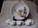 Ucago Punch Bowl Set