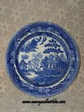 Wedgewood Blue Willow Plate