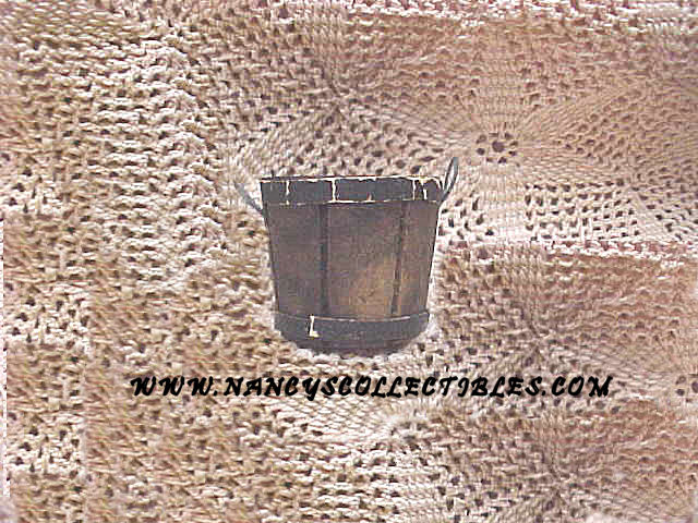 Miniature Wooden Bucket