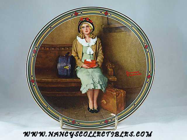 Norman Rockwell-American Dream Series-A Young Girls Dream