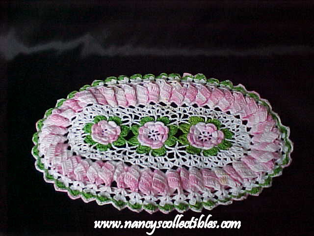 CROCHET DOILY OVAL - Crochet - Learn How to Crochet